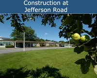 Construction at Jefferson Road